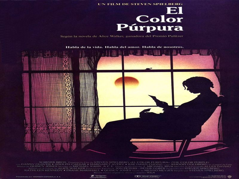 musica pelicula color purpura: