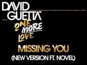 David Guetta - Missing you (Feat. Novel)