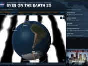 NASA - Eyes on the Earth 3D - Interactua con el planeta