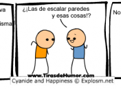 Humor gratis. Cyanide and happiness.