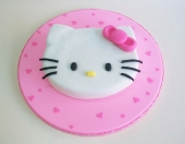 Torta de Hello Kitty - Paso a paso con fotos