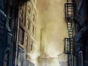 Ilustraciones de Batman: Arkham City