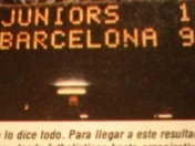 La mayor goleada en un Gamper: 9-1 a Boca Juniors