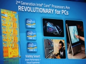 Intel : Sandy Bridge,Nuevos logos,22nm en 2011,etc.
