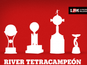 Hagamos top a River Tetracampeón internacional