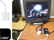 VGA del iPad es compatible con el iPhone 4
