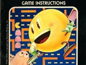 Manual original - pac man -  atari 2600
