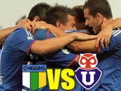 U de Chile vs O'higgins en vivo Online 2 de Julio 2012