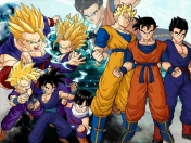 transformaciones de dragon ball z y GT parte 1.