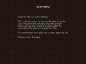 [Solución] Minecraft: Out of memory!