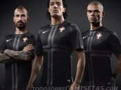 Nueva camiseta alternativa Portugal 2013/14
