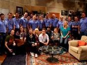 Equipo del Curiosity visita elenco de The Big Bang Theory