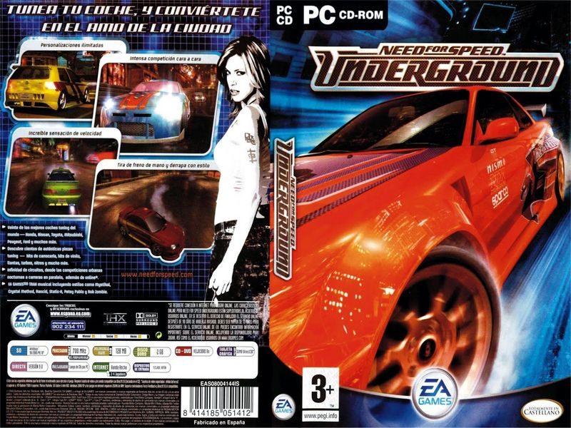 Need For Speed Underground | PC | 2 CD | Crack | MEGA