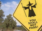 You shall not pass [Gandalf]
