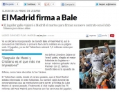 Real Madrid Firma a Bale oficial