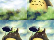 Totoro en Corel Painter