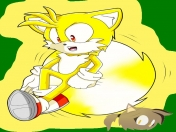 [dibujo] super tails (sonic the hedgehog 3 y knuckles)