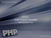 Curso Video2Brain de PHP Avanzado 2013