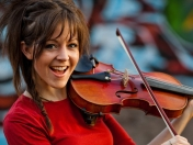Lindsey Stirling yo te banco