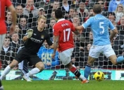 Manchester United 2 Manchester City 1