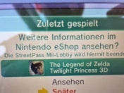 Remake The Legend of Zelda: Twilight Princess para 3Ds