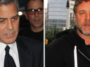 George Clooney, furioso con Russell Crowe: