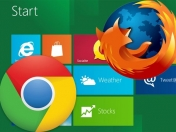 Tablets con Windows 8 no permitirían usar Chrome o Firefox