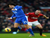 Manchester United 2 - 0 Everton  Premier League - Fecha 26