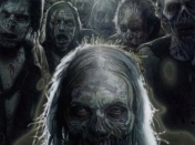 The Walking Dead una experiencia real en el Halloween (eeuu)