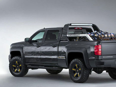 Chevrolet Silverado Black Ops Y Z71 Volunteer Firefighter