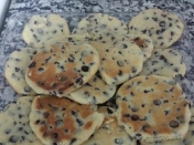 Galletitas con Chips de chocolate (Tipo pepitos)