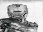 Dibujo de Iron Man [Lapices]