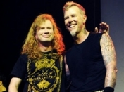 "Dave Mustaine a James Hetfield: ""Cambiamos el mundo, hermano"