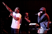 Eminem feat. 50 cent - 'Till I collapse (remix) en vivo