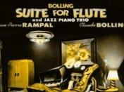 Partitura Baroque and blue Suite para flauta y piano jazz