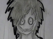 Dibujo: la muerte de Jeff the killer