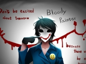 Creepypasta - Bloody Painter
