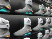 Lanzamiento de los Nike MAG de Back to the Future