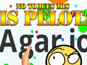 Agar io [HD] Tocando pelotas *GamePlay