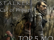 S.T.A.L.K.E.R. - Call of Pripyat TOP 5 Mods