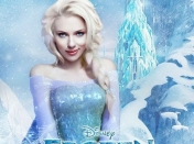Bellas actrices como Princesas Disney