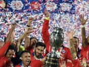 Relatos final copa America 2015 (Chile, Argentina,Brasil)