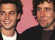 Tim Burton y Johnny Depp.
