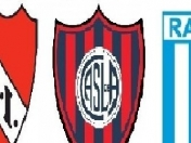 Independiente, San Lorenzo y Racing