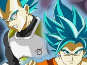 Dibujando a Goku, Vegeta Dragon ball super