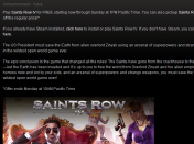 saints row 4 gratis en steam