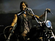 The Walking Dead Daryl Dixon en moto Mcfarlane
