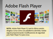 Aviso de seguridad, actualización Flash Player
