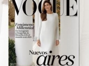 Juliana Awada en la tapa de Vogue